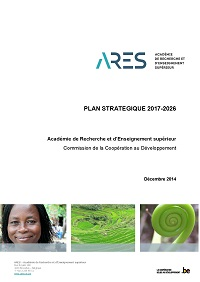 ARES CCD Plan stratgique 2017 2026 cover